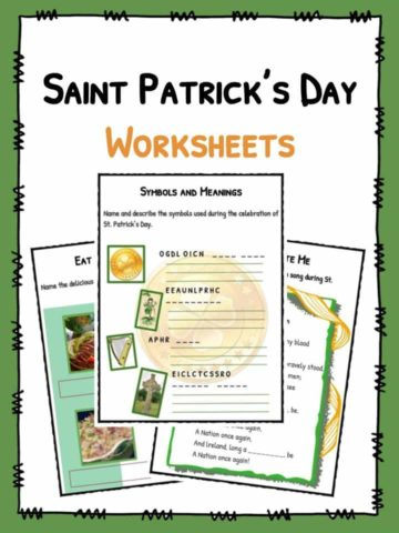 Saint Patrick's Day Worksheet