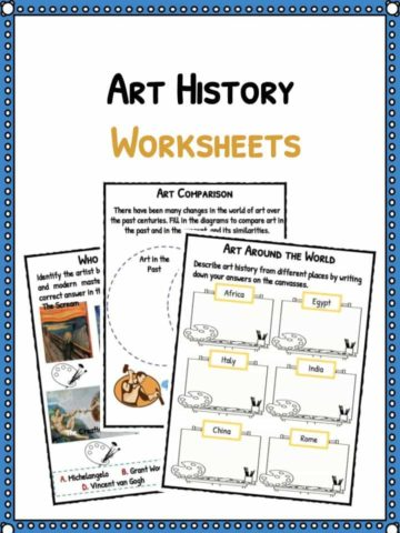 Art History Facts & Worksheets