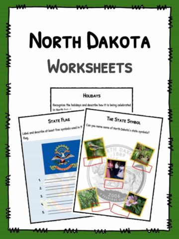 North Dakota Worksheets