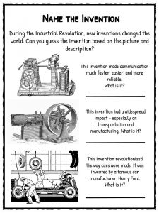 Thesis statement on industrial revolution