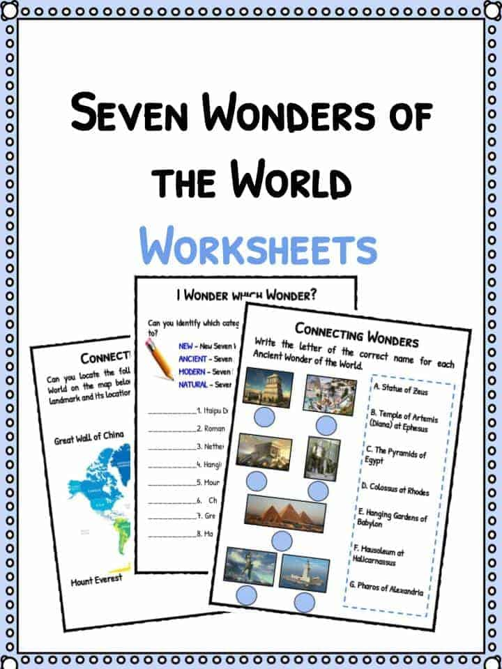 7 wonders of the world essay