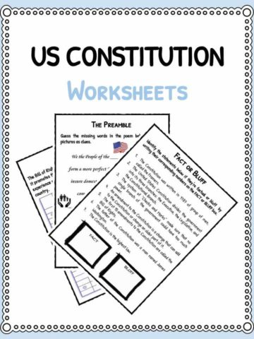 us-constitution-worksheets