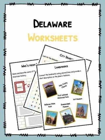 Delaware Worksheets