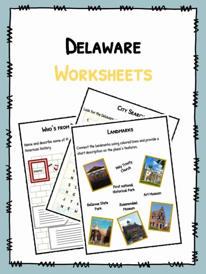 Delaware Worksheets