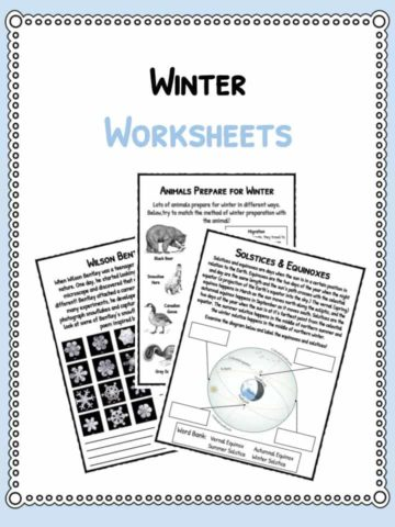 winter-worksheets