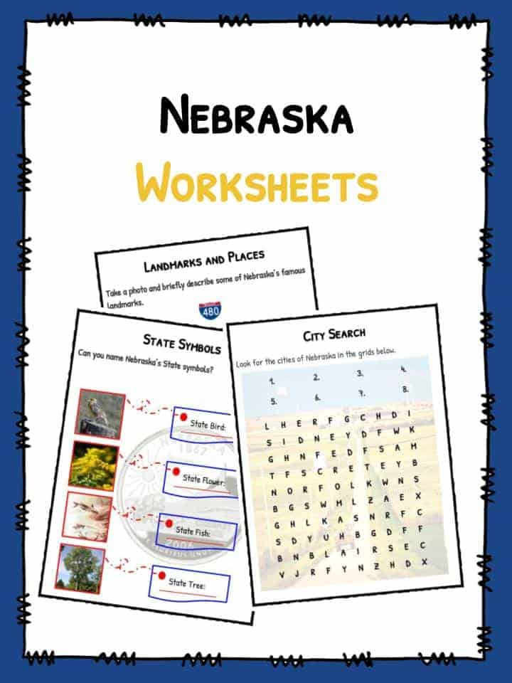 Nebraska Worksheets