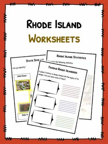Rhode Island Worksheets