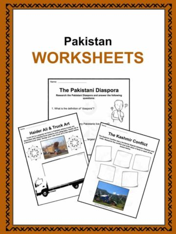 Pakistan Worksheets