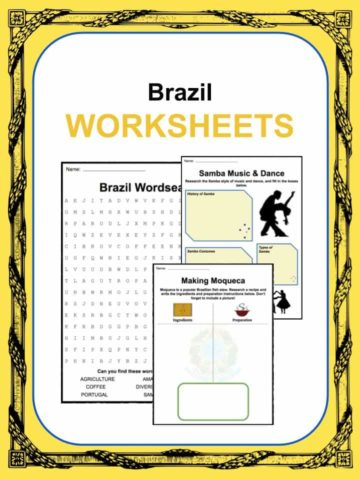 Brazil Worksheets