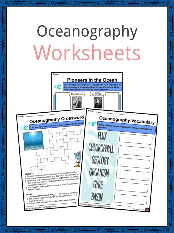 Oceanography Worksheets