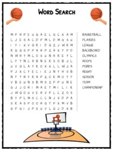 Basketball Facts Worksheets Sporting History For Kids