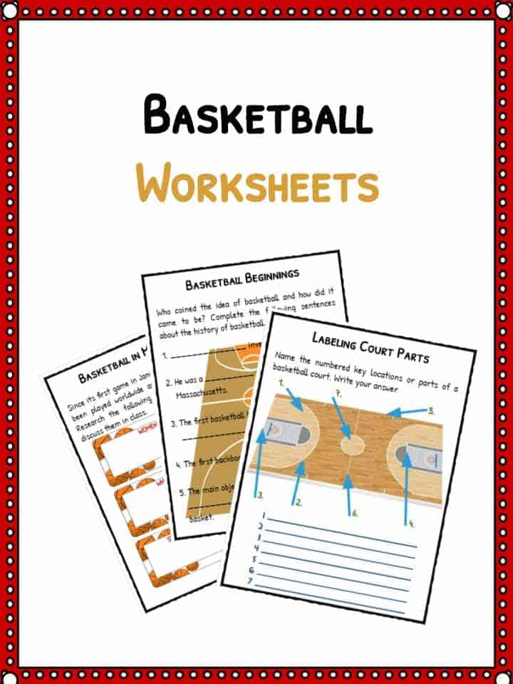 basketball facts worksheets sporting history for kids basketball facts worksheets