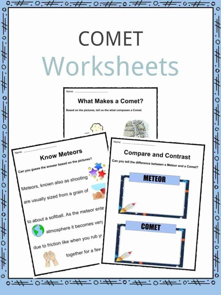 Comet Worksheetz