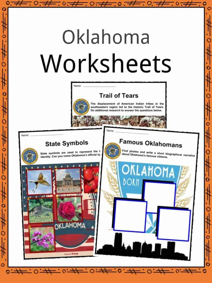 Oklahoma Worksheets