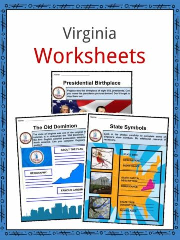 Virginia Worksheets