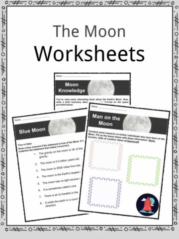 Moon Worksheets