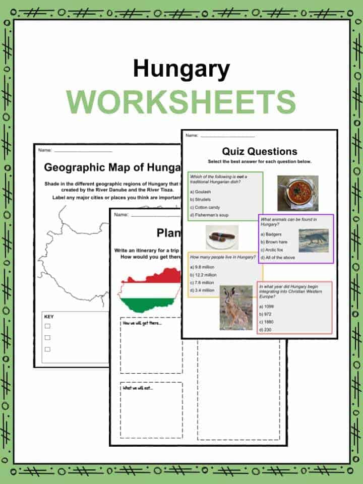 Hungary Facts Worksheets Amp Historic Information For Kids