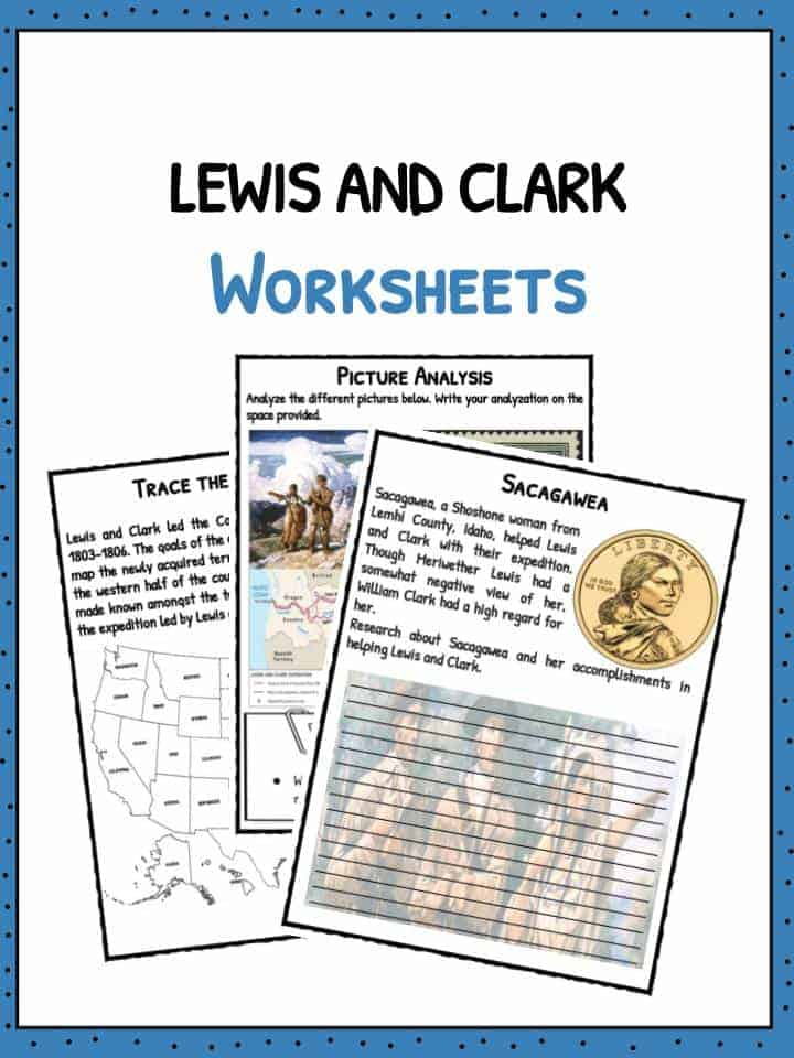 Lewis and Clark American Expedition Facts Worksheets For Kids – Lewis and Clark Worksheets