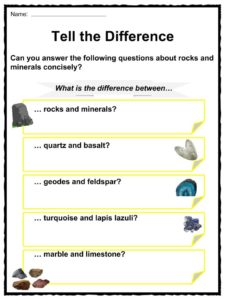 Rock and Mineral Facts, Worksheets, Formation & Much More For Kids