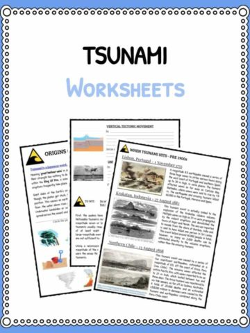 TSUNAMI Worksheets
