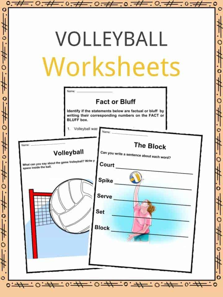 volleyball facts worksheets history of the sport for kids. Black Bedroom Furniture Sets. Home Design Ideas