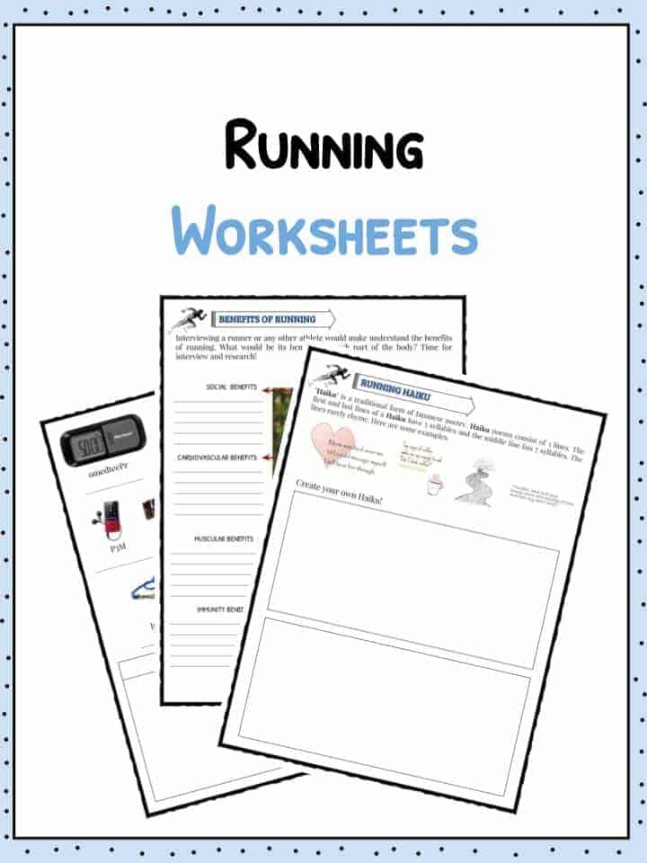Running Worksheets Facts Amp Information For Kids