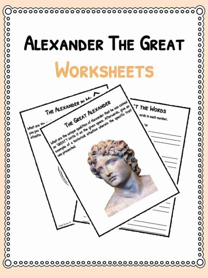 Alexander the Great Facts Worksheets – Alexander the Great Worksheet