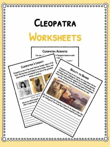 cleopatra-worksheets