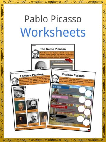 Pablo Picasso Worksheets