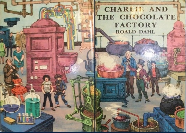roald dahl facts information and worksheets teaching resources 1960 cover of roald dahl s book charlie and the chocolate factory