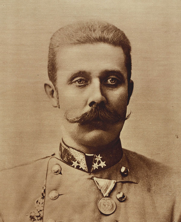 Archduke Franz Ferdinand of Austria - Published in: The War of the Nations (New York), December 31, 1919.