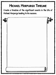 Quadratic Application Problems Worksheet Word Michael Morpurgo Facts Information  Books  Kidskonnect Letter Tracing Worksheets with Free Printable 6th Grade Math Worksheets Throughout The Extensive Worksheet Pack There Are Multiple Lesson Resources  And Quizzes For Students To Practice Their Knowledge Which Can Be Used  Within  Number 3 Worksheet Preschool Pdf