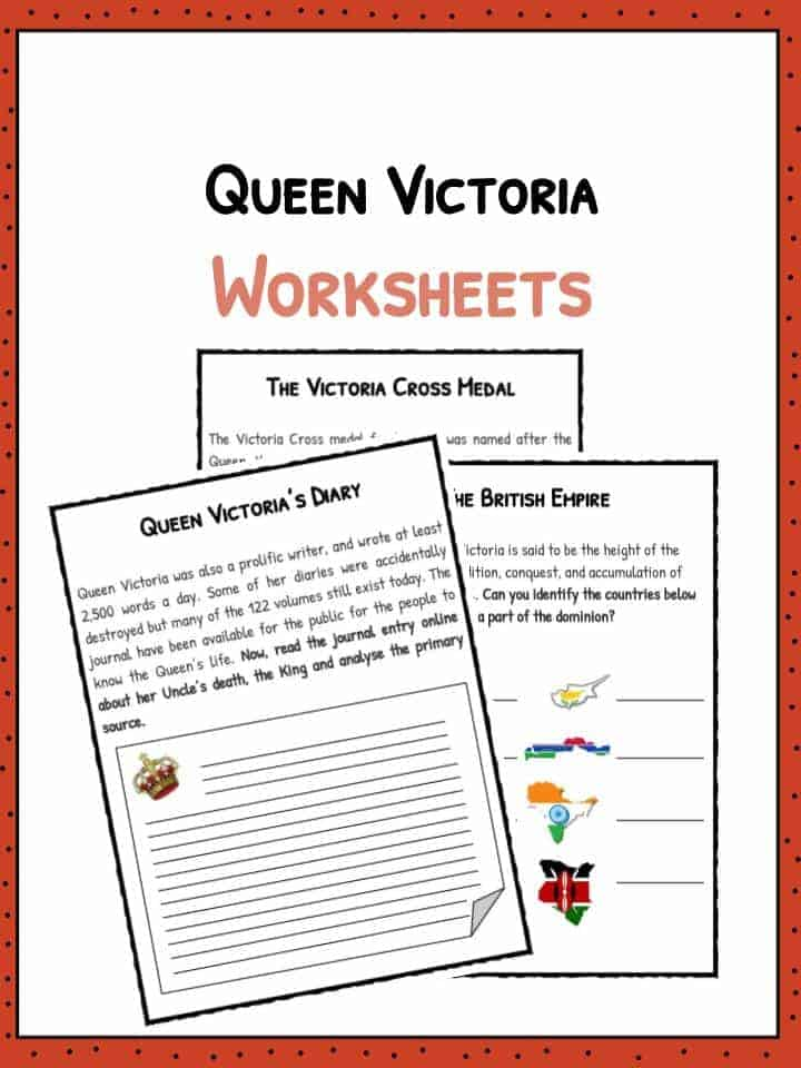 Queen-Victoria-Worksheets-3 Queen Worksheet For Pre on prefixes re, writing shapes, printable letter, tracing shapes, grade printable, algebra fractions, printable matching,