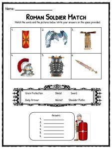 Roman empire activities - 1 7