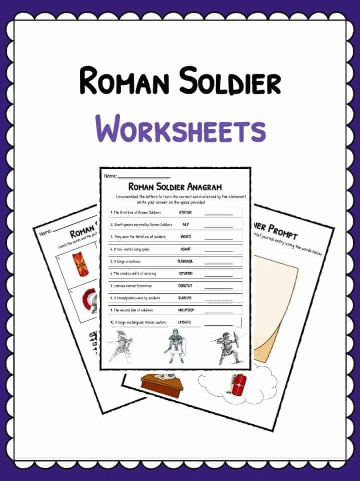 Ancient Roman Clothing Facts Worksheets – Ancient Rome Worksheets