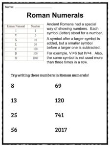 The Romans: Facts, Worksheets & Empire Information For Kids