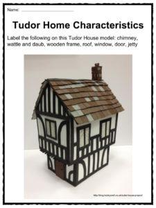 Tudor Houses Facts Worksheets Information For Kids