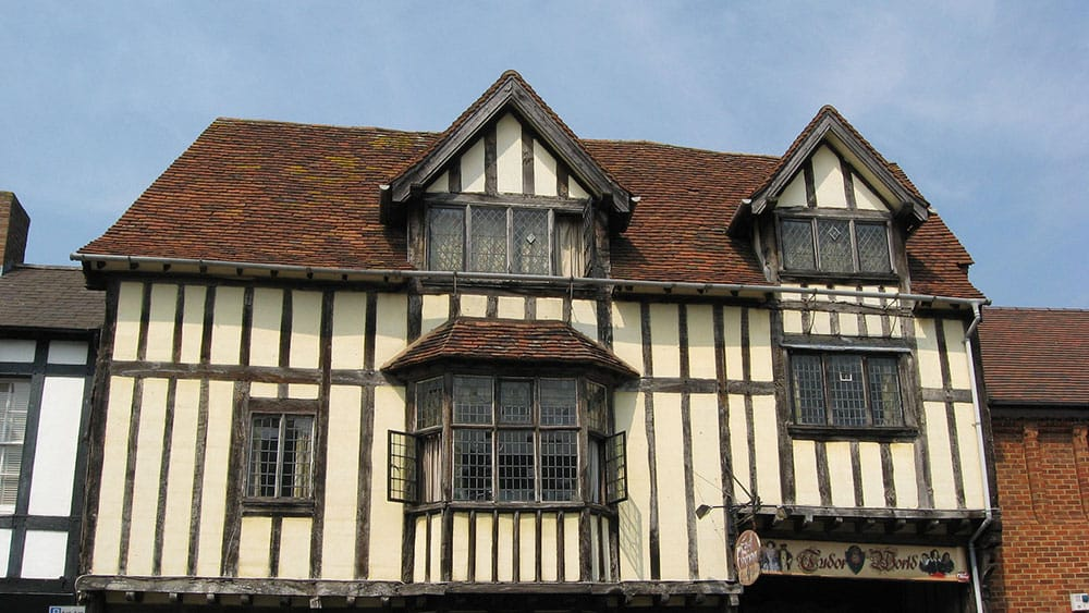 Tudor houses facts worksheets information for kids for Tudor house