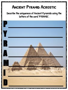 Integrated Math 1 Worksheets Ancient Pyramids Facts  Worksheets For Kids  Pyramids Around The  Writing Summaries Worksheets Excel with Leonardo Da Vinci Worksheet Download Includes The Following Worksheets Government Worksheet Excel