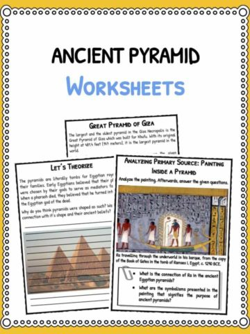 Ancient Pyramid Facts & Worksheets