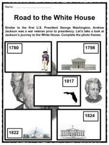 Andrew Jackson Reading Comprehension Worksheet by Sanderson's ...