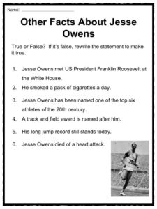 a biography of the life and career of jesse owens Watch video jesse owens, a record-breaking olympic sprinter and the best athlete of his time, spent much of his life struggling with issues of race unlike other athletes of his era, owens' day-to-day life was defined—and restricted—by his color.