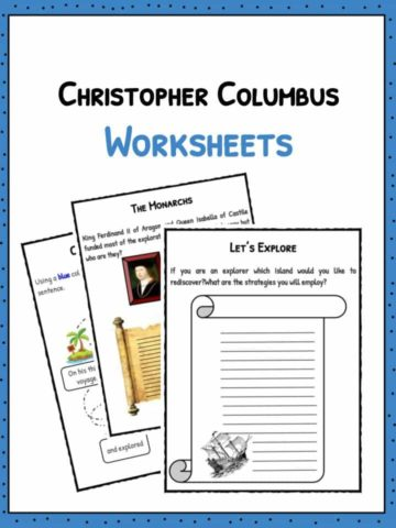 Christopher Columbus Worksheets