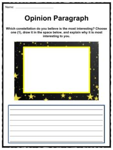 Star and Constellation Facts and Worksheets | KidsKonnect