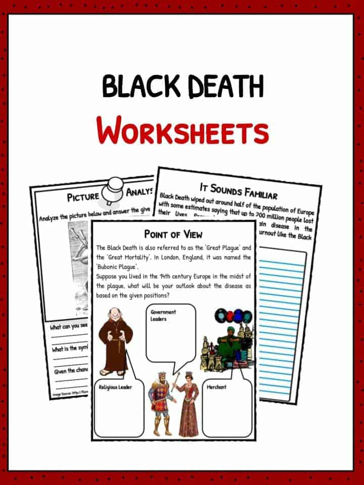 Printables Black Death Worksheets the black death facts history worksheets for kids worksheets