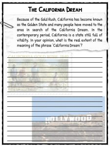 California Gold Rush Facts & Worksheets   The Gold Rush of 1849
