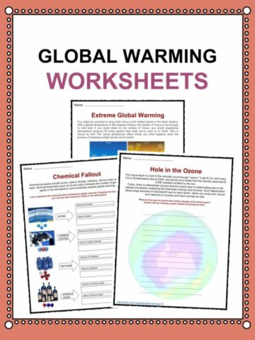 Global Warming Worksheets