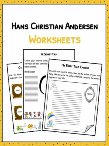 Hans Christian Andersen Worksheets