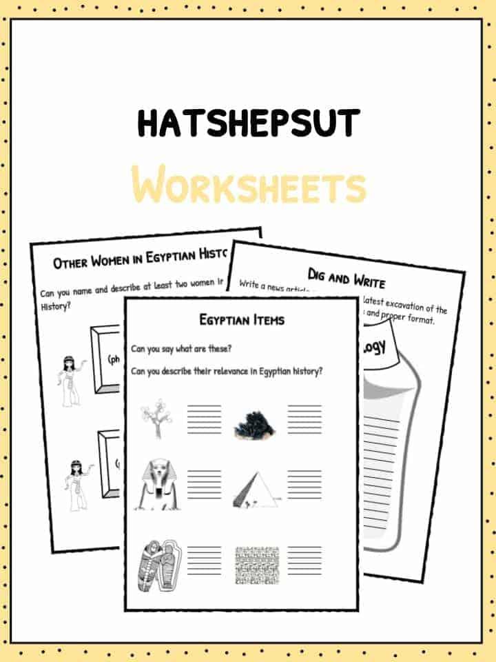 Hatshepsut First Female Pharaoh Facts Amp Worksheets For Kids