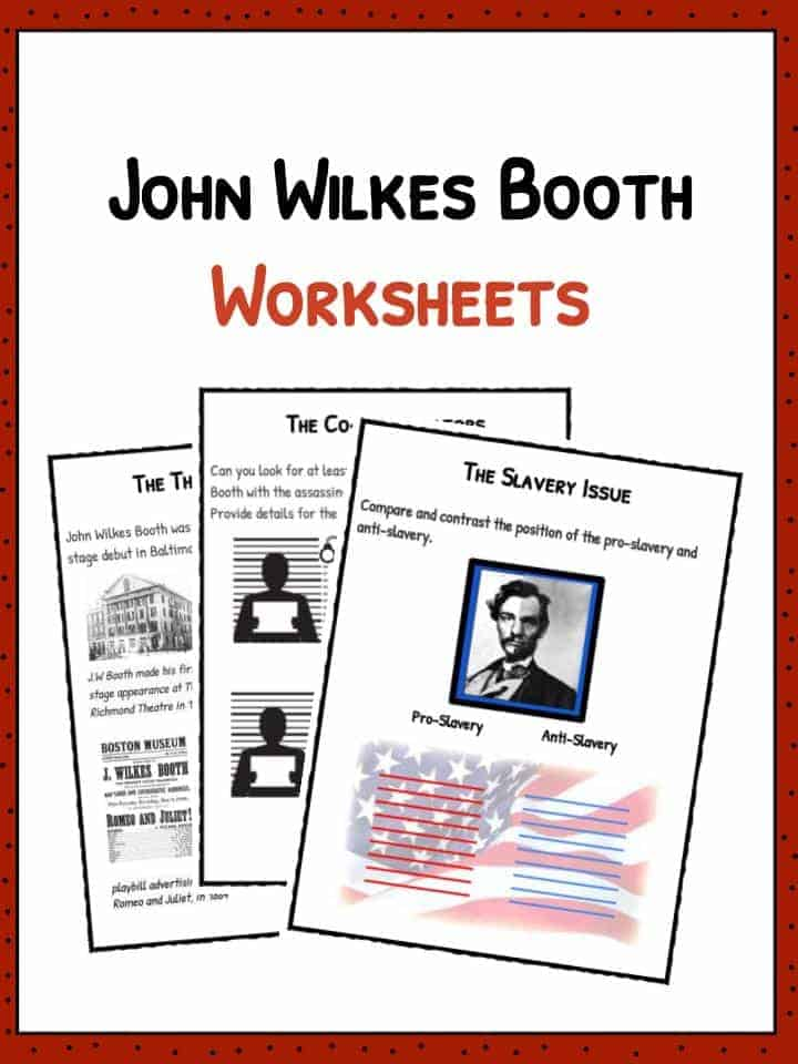 John Wilkes Booth Worksheets